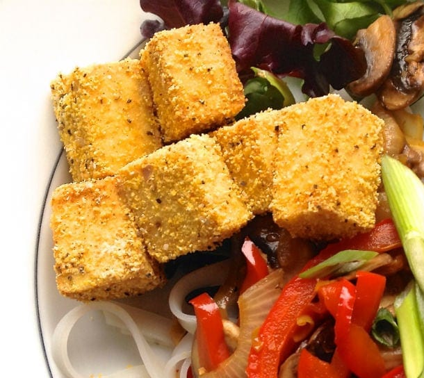 How to Make Crispy Baked Tofu