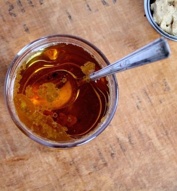Vanilla Bean Hot Buttered Rum | heartbeet kitchen
