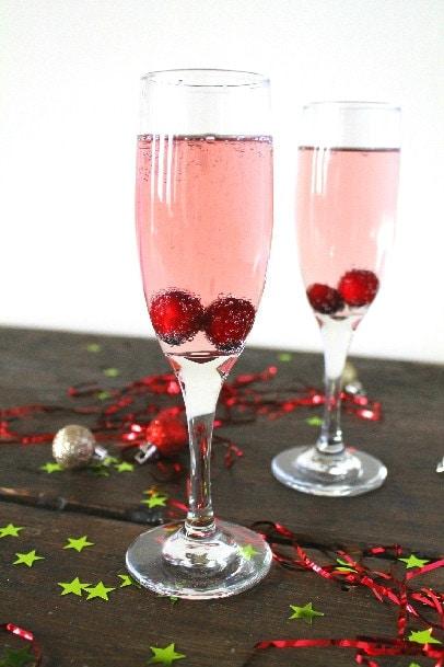 Sparkling Cherry Cocktail Heartbeet Kitchen