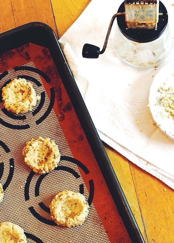Gluten-Free Thumbprints   fill with jam, chocolate or caramel