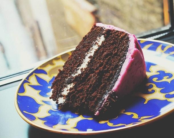 Chocolate beet cake, gluten free