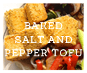 Crispy Baked Salt and Pepper Tofu