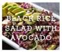 Black Rice Salad with Avocado