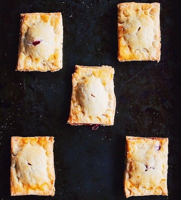 Gluten-Free Raspberry Rhubarb Handpies ~ the perfect sweet treat.