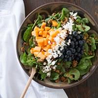 Summer Fruit & Feta Cheese Salad
