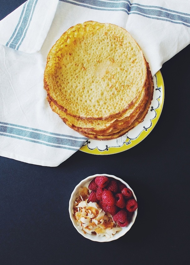 Millet Oat Crepes | heartbeet kitchen