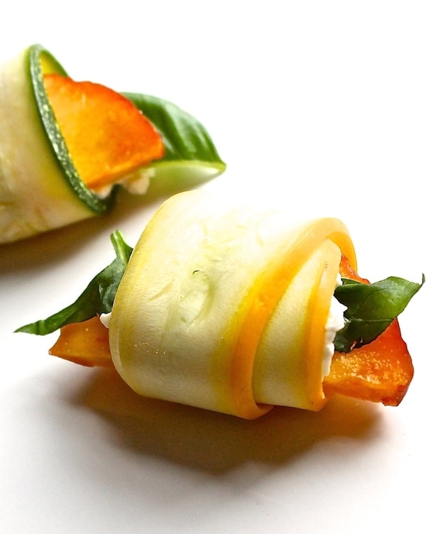 Summer Squash Peach Kisses
