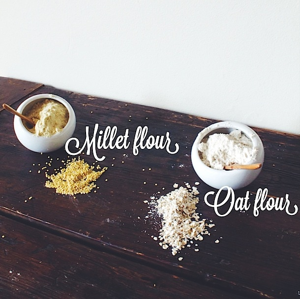 How to grind your own Millet and Oat Flour