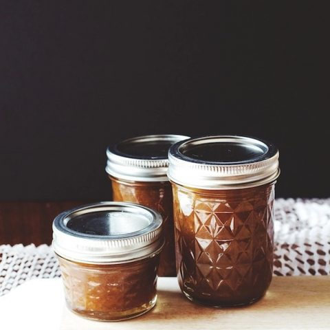 Caramel Cardamom Pear Jam |small batch canning | heartbeet kitchen