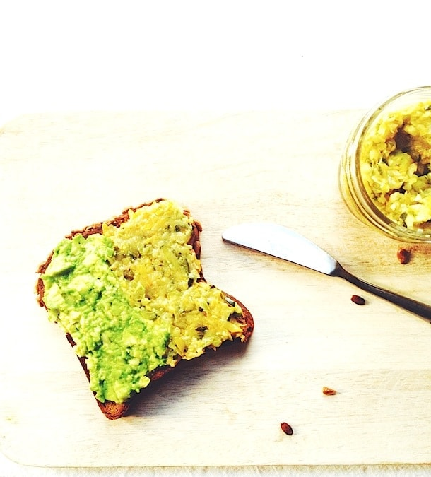 Avocado + Zucchini Butter Toast   heartbeet kitchen