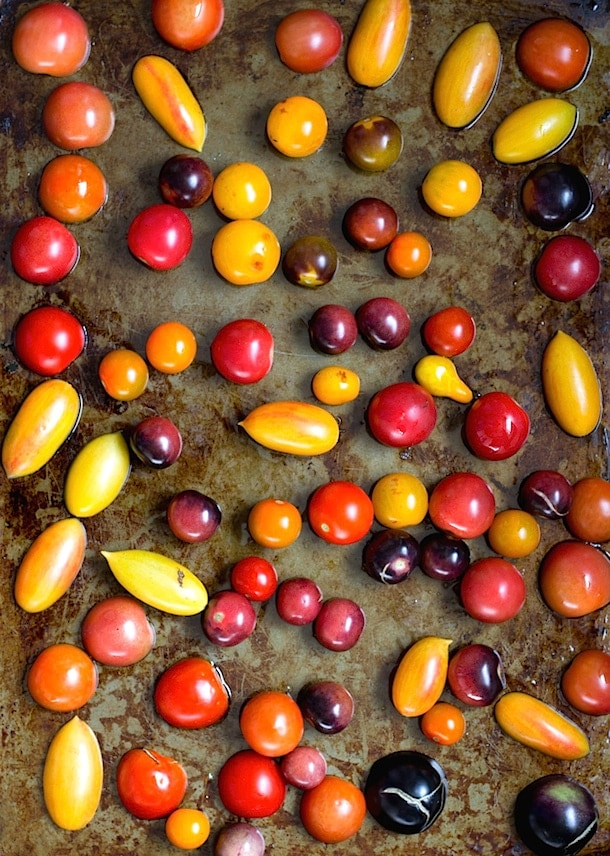 Heirloom Cherry Tomatoes Preserved in Olive Oil | heartbeet kitchen
