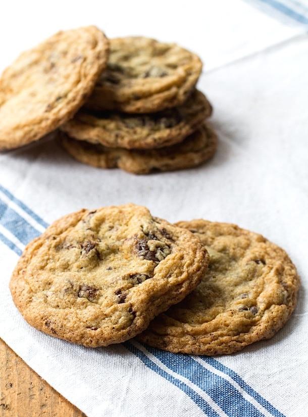 Gluten-Free Chocolate Chunk Cookies | heartbeet kitchen