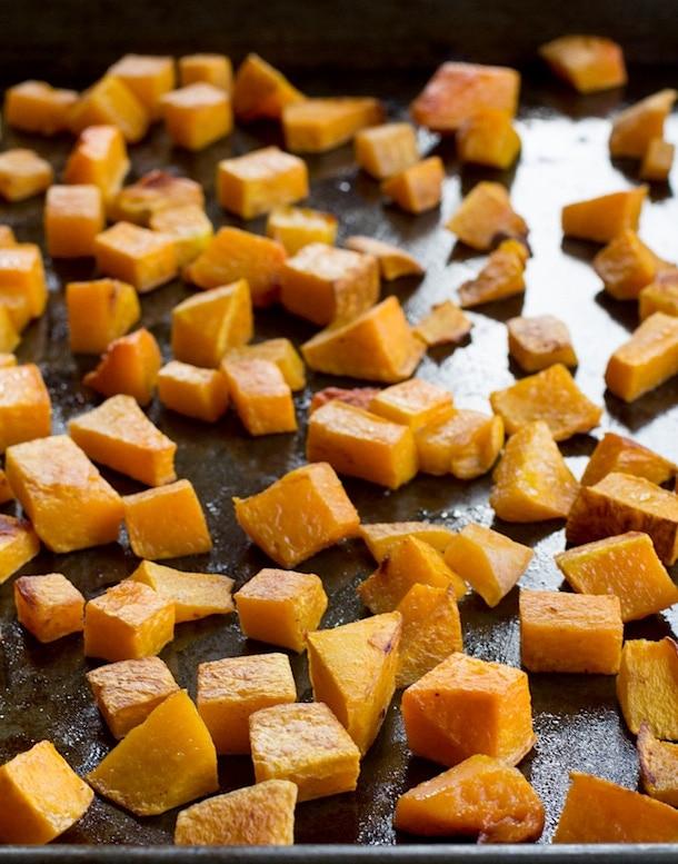 how to cut & dice butternut squash