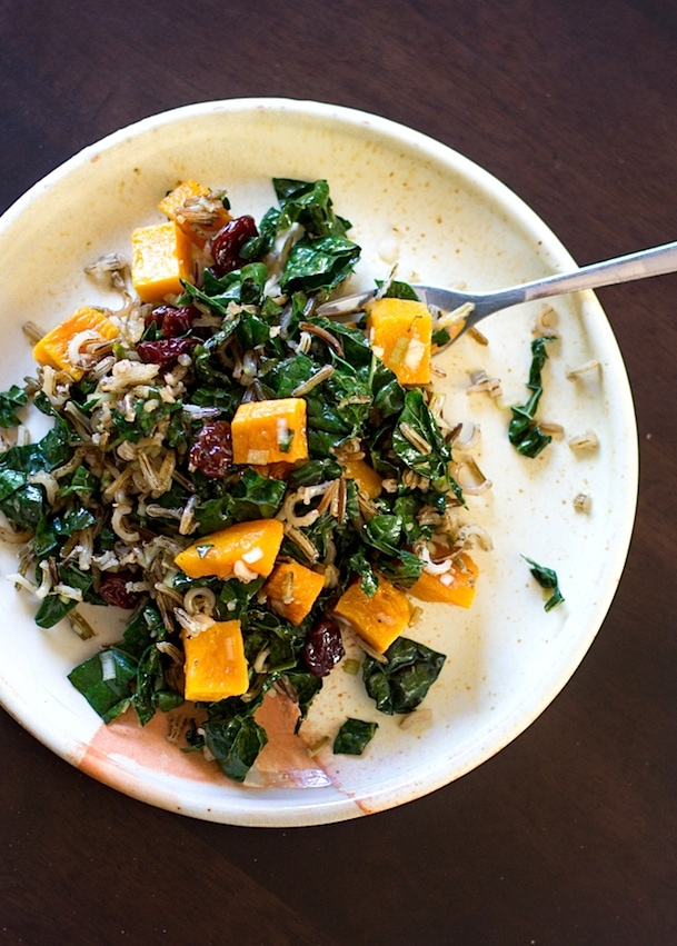 Wild Rice & Butternut Squash Fall Salad
