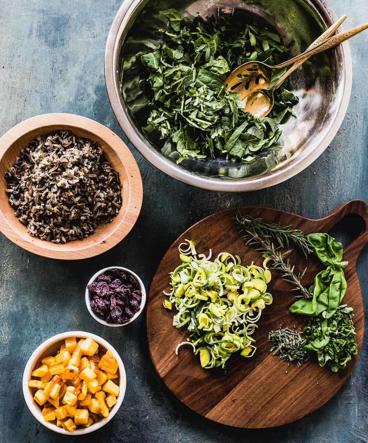 Wild Rice and Butternut Squash Salad {thanksgiving salad}