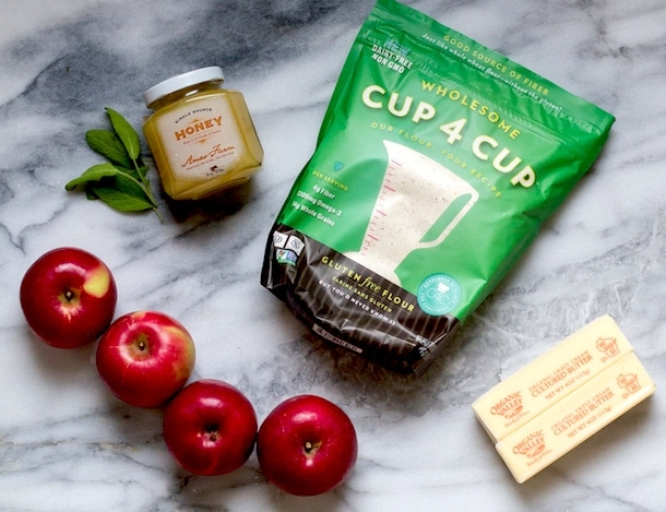 Gluten-Free Apple Pie with crust made from Cup4Cup Flour