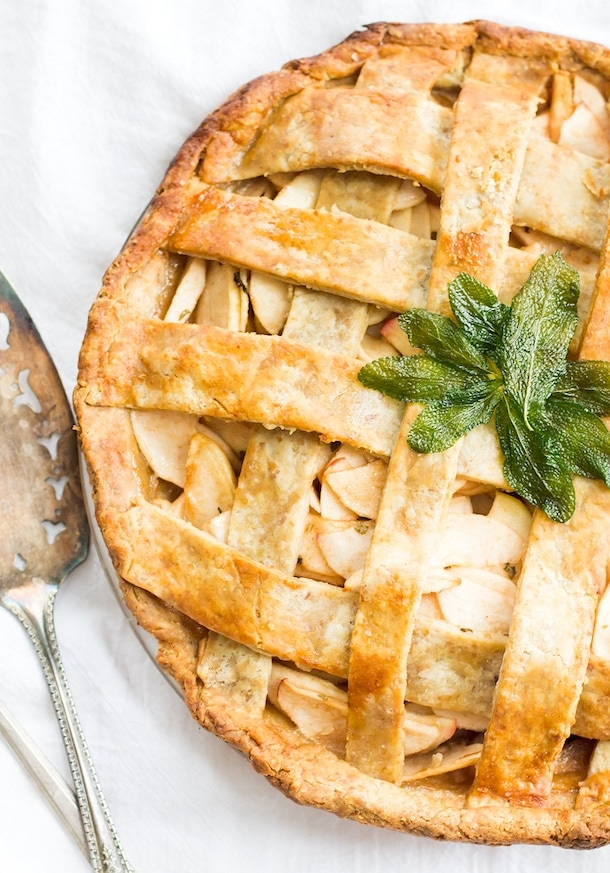 Homemade Gluten-Free Apple Pie