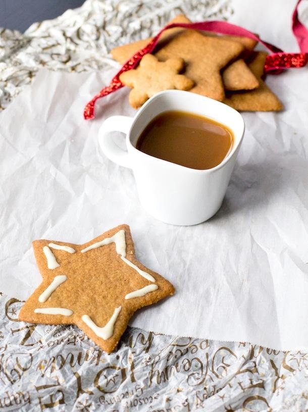 Five-Spice Ginger Cookies (gluten-free) | heartbeet kitchen