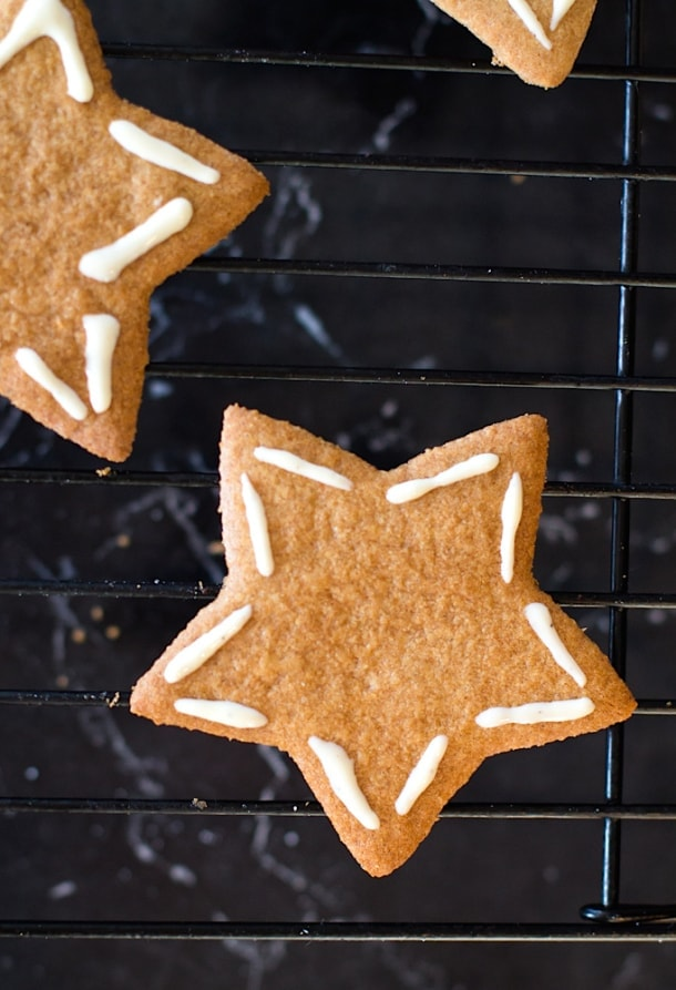 Five-Spice Ginger Thins (gluten-free) | heartbeet kitchen