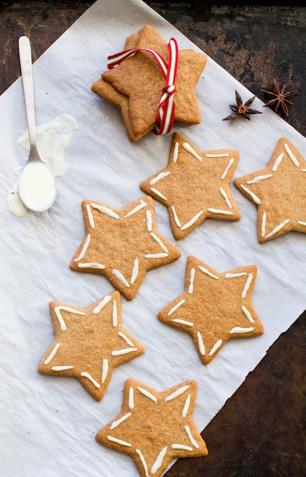 Five-Spice Ginger Thins (gluten-free)