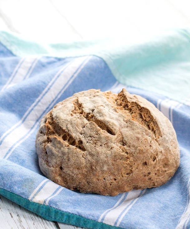 Gluten-Free Artisan Bread | made with whole grains, poppy seeds and hemp seeds
