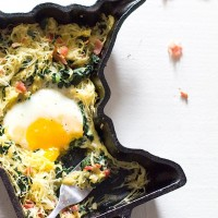 Whole 30 Spaghetti Squash Breakfast Hash