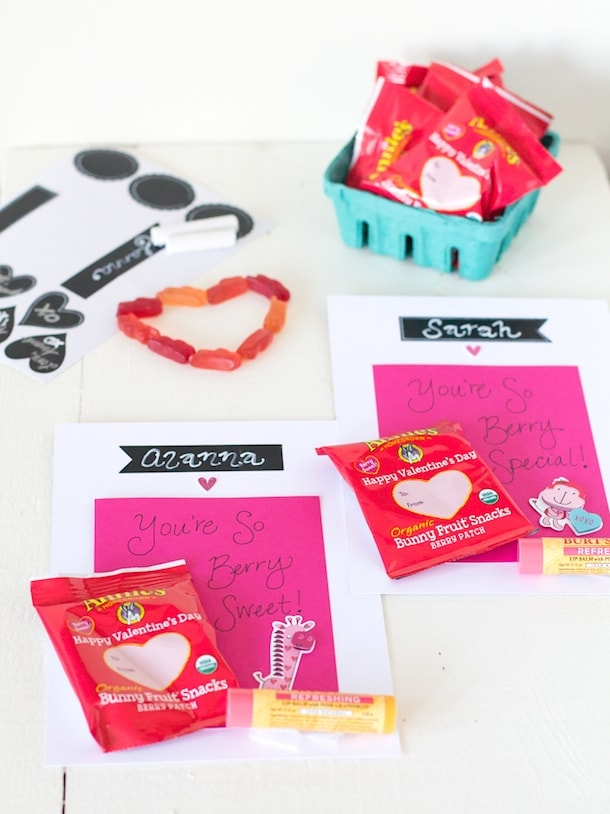 Valentines Day with Annies Homegrown and DIY Chalk Art Cards