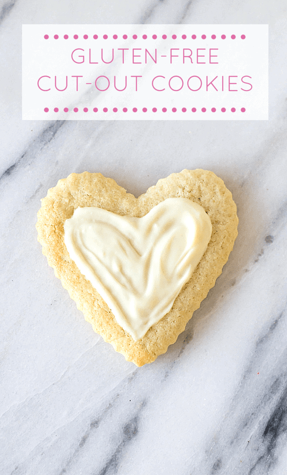 Gluten-Free Cut-Out Sugar Cookies | heartbeet kitchen