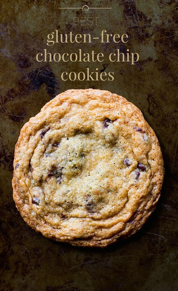 Best Gluten-Free Chocolate Chip Cookies | soft and chewy in the middle ...
