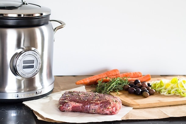 Slow-Cooker Beef Roast with Olives & Carrot Mash | with the KitchenAid Multi-Cooker