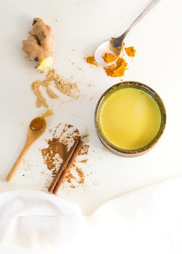 Soothing Turmeric Milk {aip, paleo, vegan}