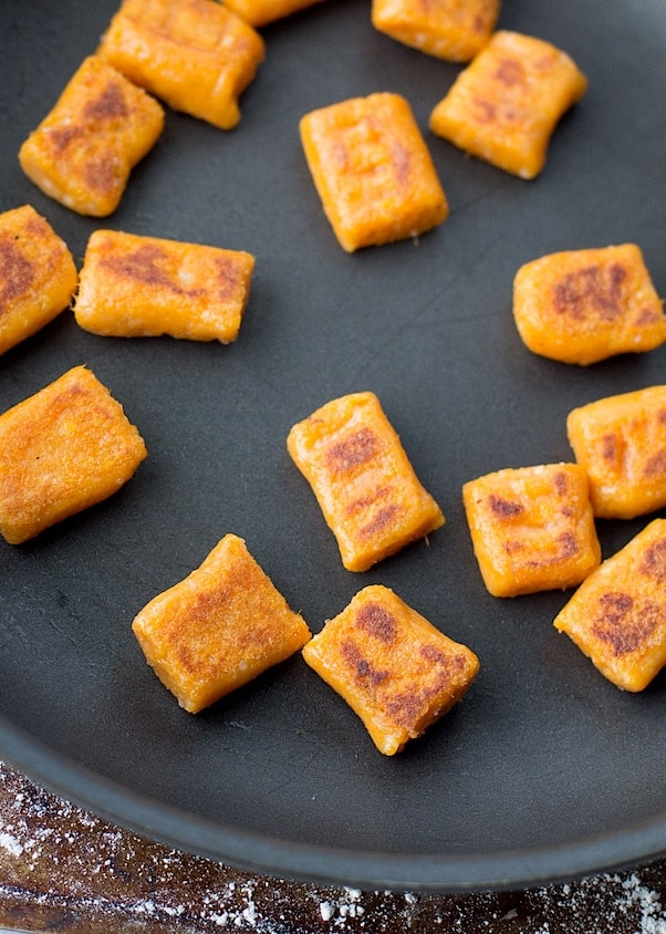 Ingredient Gluten Free Sweet Potato Gnocchi - vegan too!