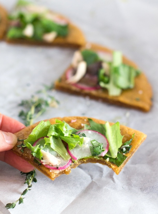 Amazing 4 Ingredient AIP Flatbread - and so easy. (vegan too)