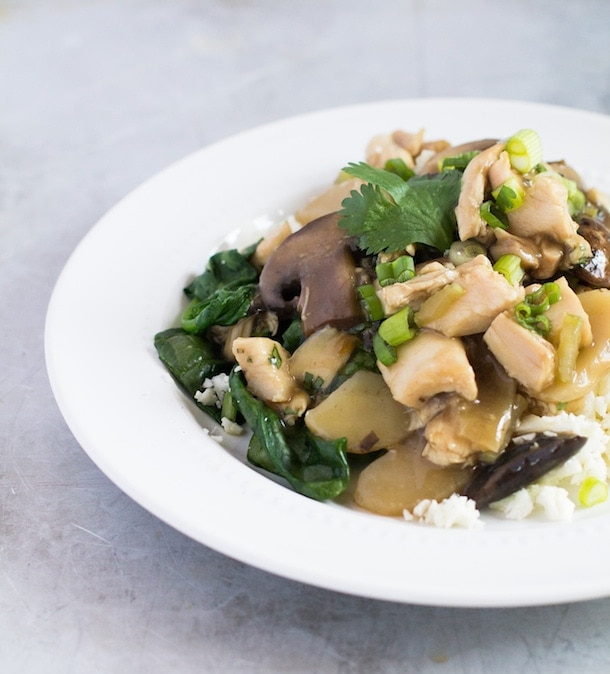 AIP/Paleo Chicken Chow Mein recipe