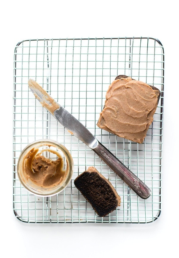 """Chocolate"" Carob Bread with Date Caramel Frosting {AIP, paleo} via heartbeet kitchen"