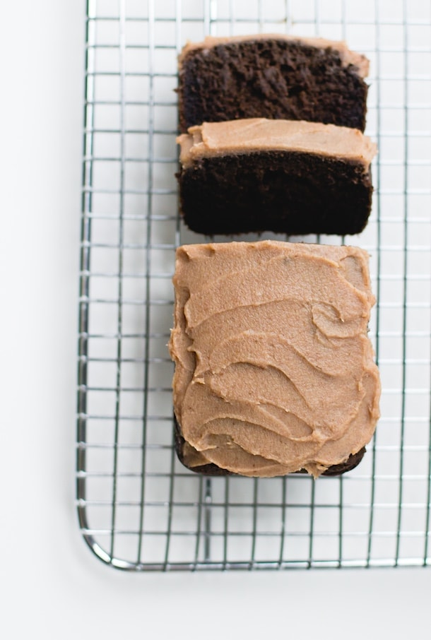 Chocolate Carob Bread with Date Caramel Spread {paleo}