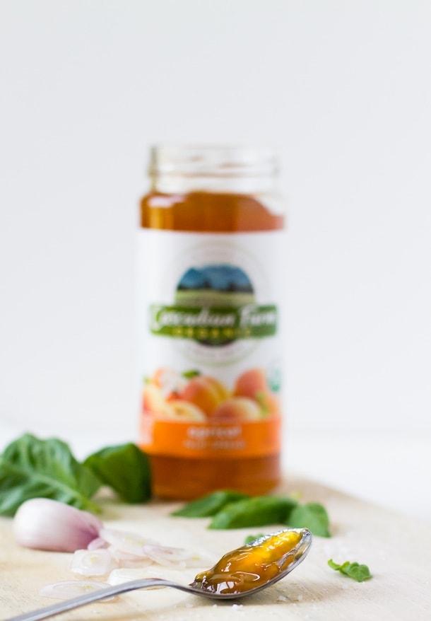 Crispy Chicken Thighs Apricot Glaze 5