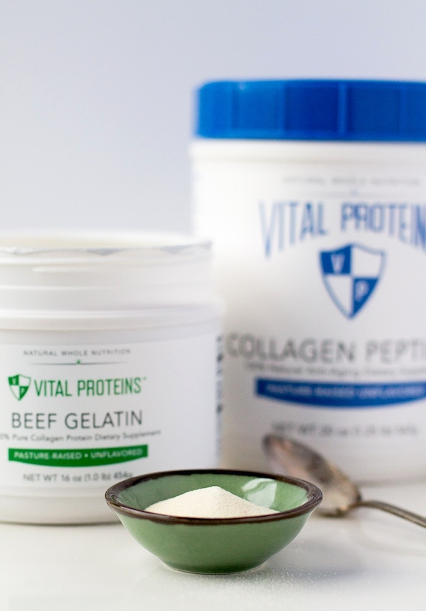 How to use Collagen (grassfed gelatin) as an Egg Replacement (tips + recipe)