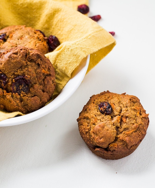 Paleo Morning Glory Muffins {made with