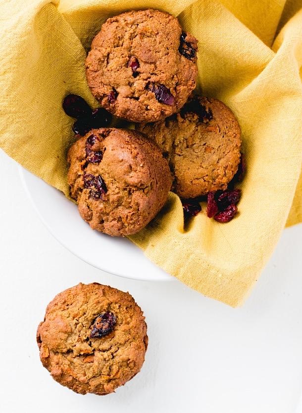 Paleo Morning Glory Muffins {egg-free, nut-free}