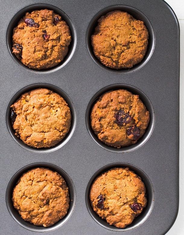Paleo Morning Glory Muffins {nut-free, egg-free}