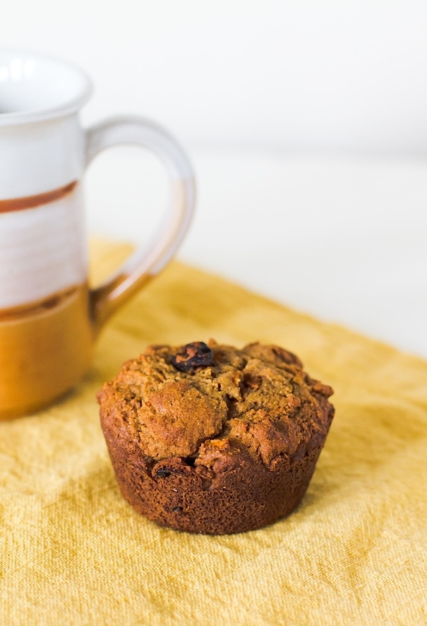 Morning Glory Muffins {paleo, gluten-free}