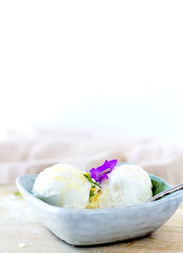 Salty Honey Ice Cream {via heartbeet kitchen blog}