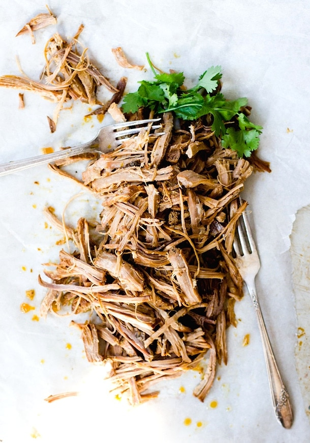 Juicy, Cuban Pulled Pork {paleo, AIP, gluten-free}