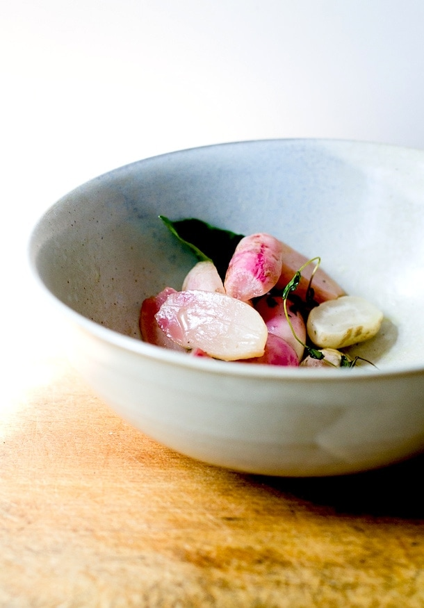 Ghee Braised Radishes {via heartbeet kitchen}
