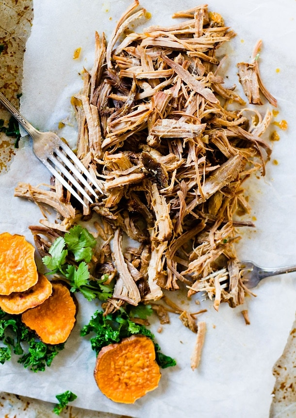 Juicy, Cuban Pulled Pork {paleo, gluten-free}
