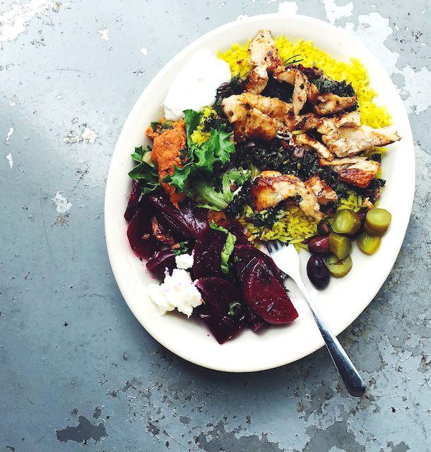 Best Mediterranean Food ever. ~ at Mediterranean Deli & Catering, Chapel Hill, North Carolina