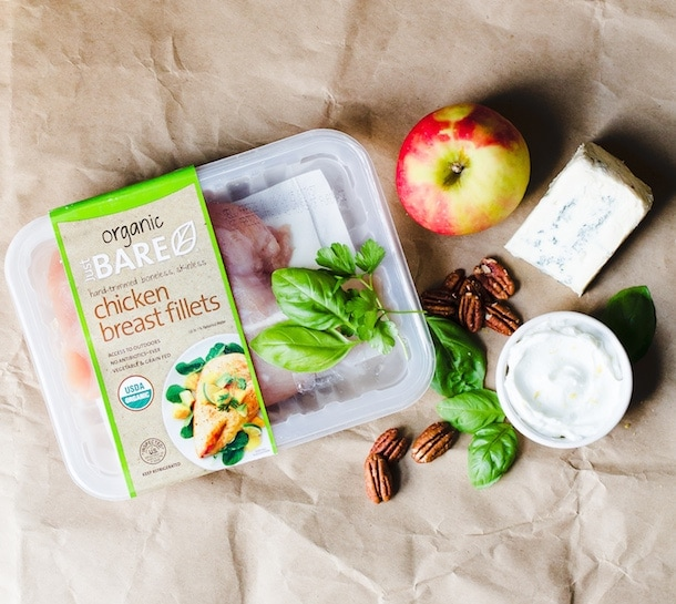 Autumn Grilled Chicken Salad {use organic chicken breasts}