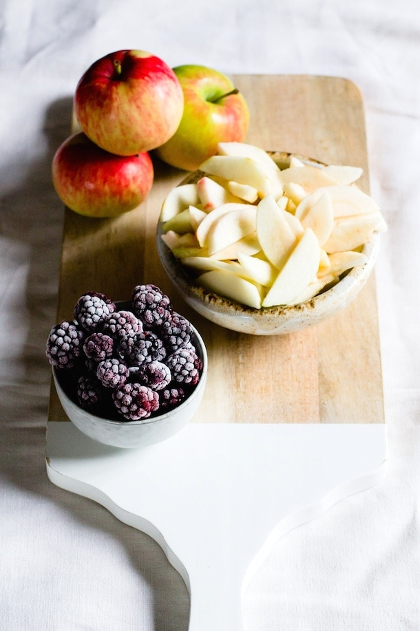 Berry Apple Buckle Cake {gluten-free} via heartbeet kitchen blog