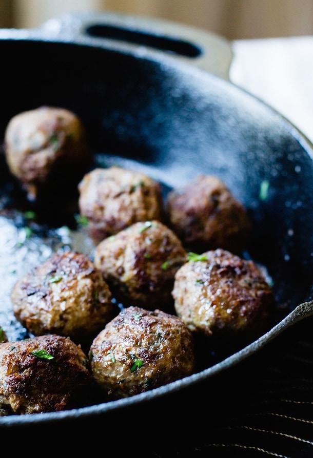 Cumin Spiced Meatballs {gluten-free}